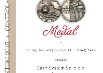 Control Stom Złoty Medal